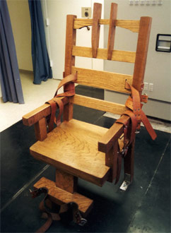 Electric chair (Florida Department of Corrections)