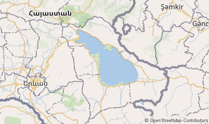 Map of Geghark'unik'i Marz