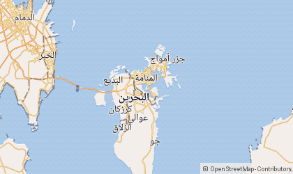 Map of Manama