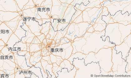 Chongqing Map