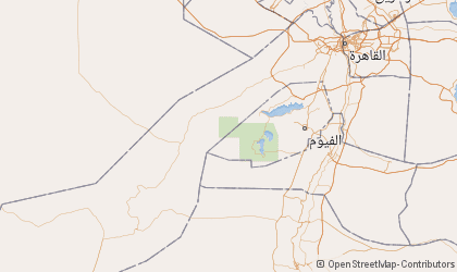 Map of Al Jizah