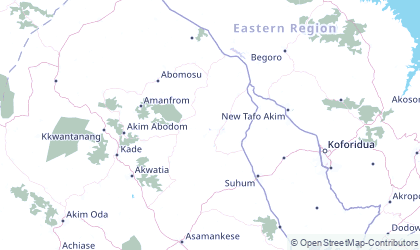 Map of Eastern