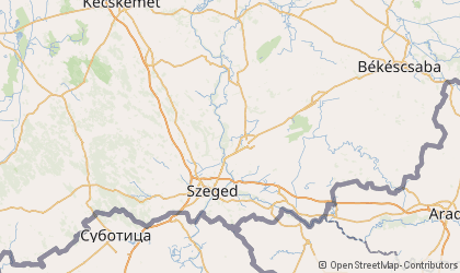 Szeged Map