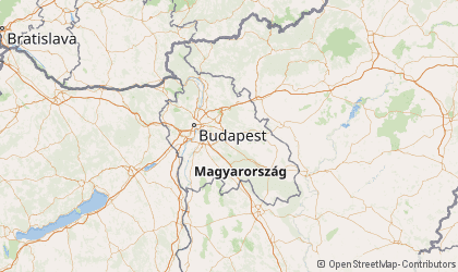 Map of Pest