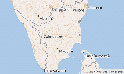 Chennai Map
