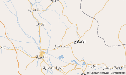Map of Dhi Qar