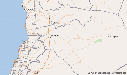 Homs Map