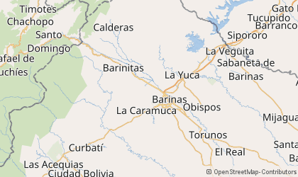Map of Barinas